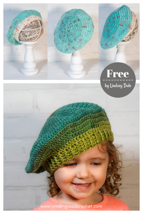 Today Beret Free Crochet Pattern