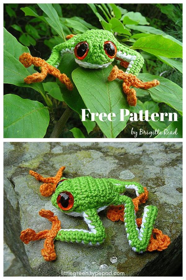 Tree Frog Amigurumi Free Crochet Pattern