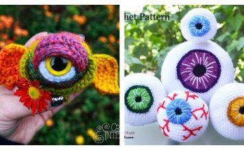 Amazing Eyeball Crochet Patterns