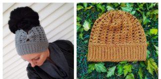 Ear Warmer or Beanie Free Crochet Pattern