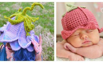 Fairy Flower Hat Crochet Patterns