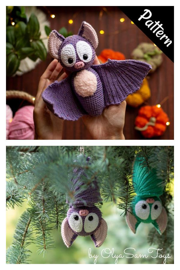 Halloween Bat Amigurumi Crochet Pattern