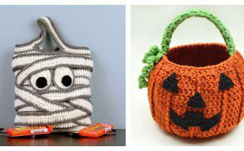 Halloween Candy Bag Crochet Patterns