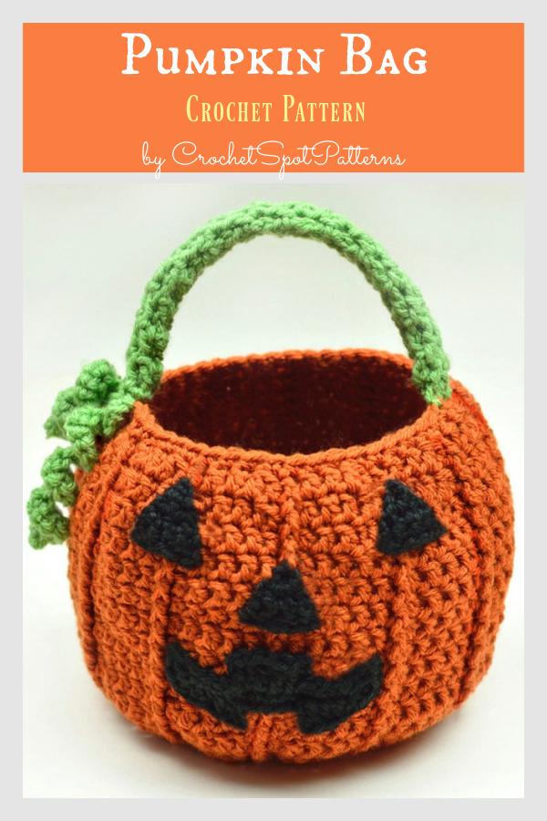 Pumpkin Bag Crochet Pattern