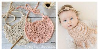 Round Baby Bib Crochet Pattern