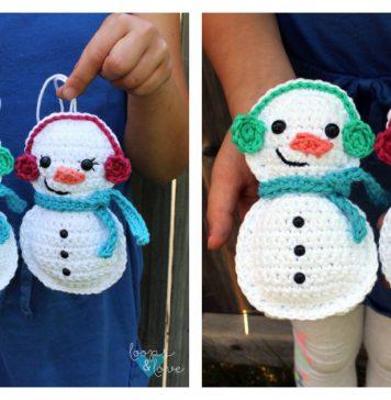 Snowman Ragdoll Amigurumi Free Crochet Pattern